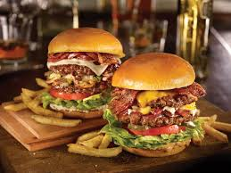 Stacked Burgers from TGI Friday's