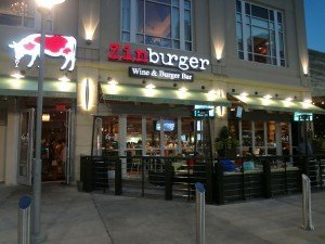 Zinburger Wine and Burger Bar's 18 Wine Varieties-RestaurantMealPricse