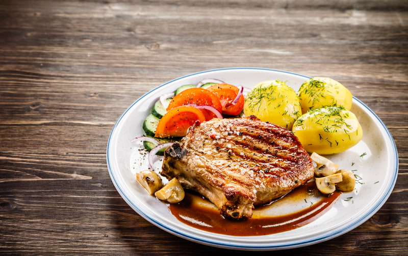 Bourbon Glazed Pork Chops – Perfect for Your Next Summer Party
